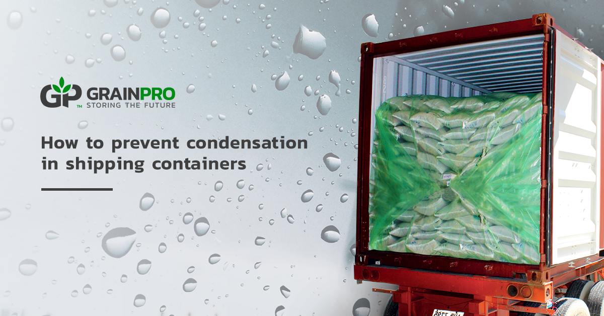 GP - How to prevent condensation in shipping containers